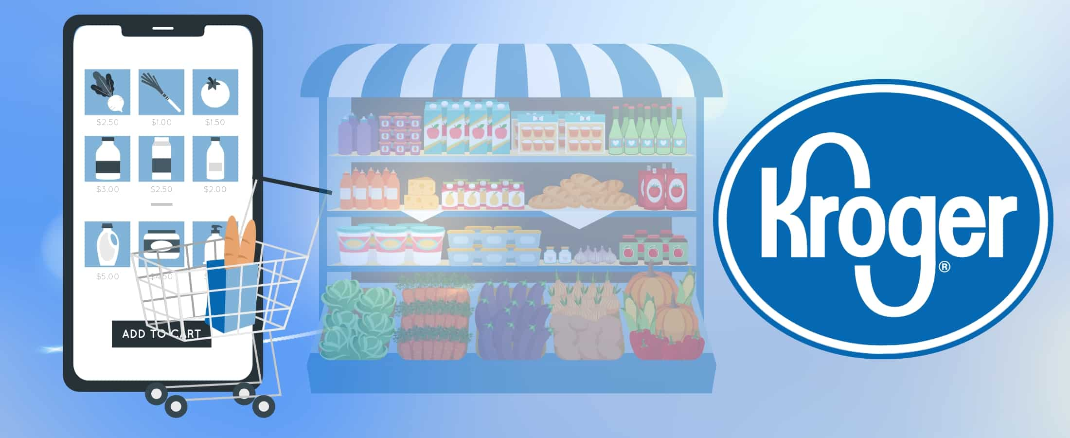 Kroger for grocery delivery app development - Moon Technolabs